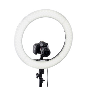 Image 2 - Fusitu 18 Inch Ringlight Photographic Light LED Ring Light Video Ring Lamp with Tripod Stand For Camera Phone YouTube Makeup
