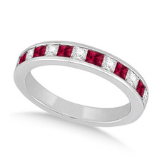 HUITAN Simple Stylish Elegant Ring Band Surprise Birthday Anniversary Present For Women With Blue/Green/Red/Pink Cubic Zircon