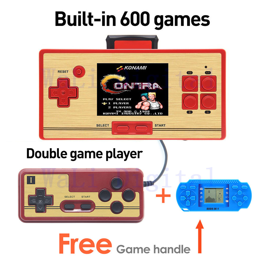 Free shipping hot sale 2 6 inch retro game console for Gamer v portable games