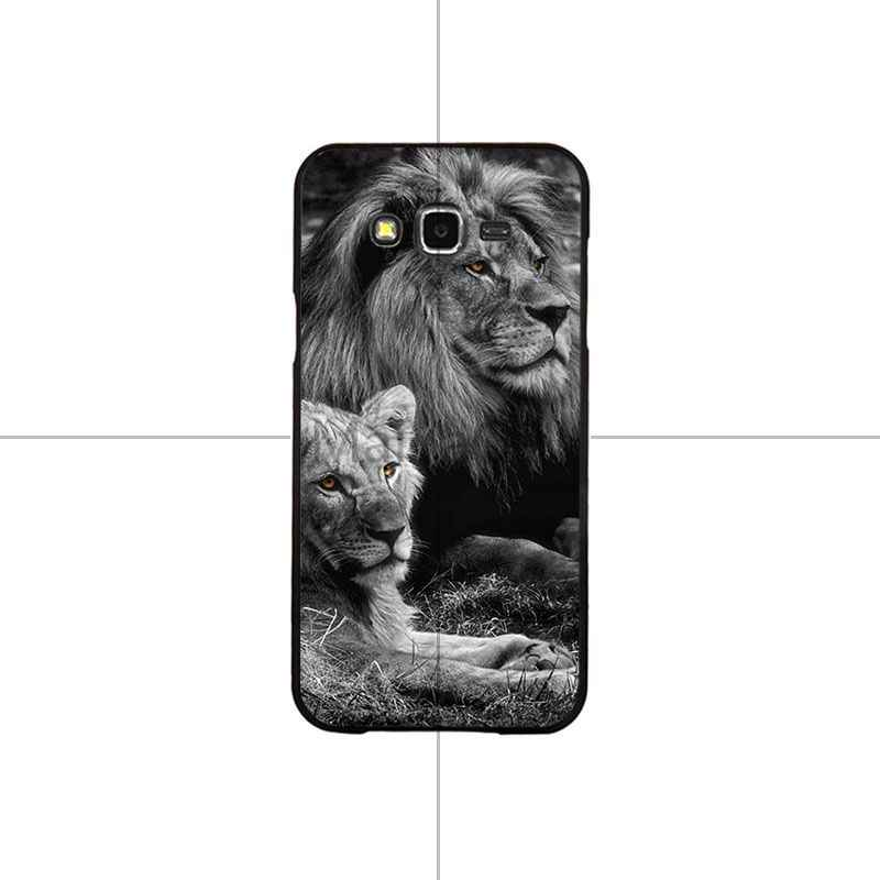 MaiYaCa النجوم الحيوان الأسد الذئب لينة سيليكون غطاء إطار هاتف محمول قذيفة لسامسونج J4 puls J6 puls J7 J6 2018 J7 2018 J4 2018