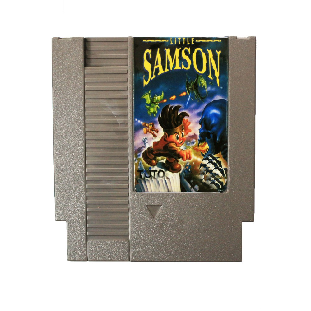 Best Sale: Little Samson <font><b>72</b></font> <font><b>Pins</b></font> cartridge 8 Bit <font><b>Game</b></font> <font><b>Card</b></font> Free Shipping image