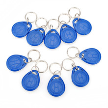 Hot Sale 10Pcs/lot Proximity ID Token Tag Key Fob 125Khz RFID Plastic Water Resist Access Control Use New