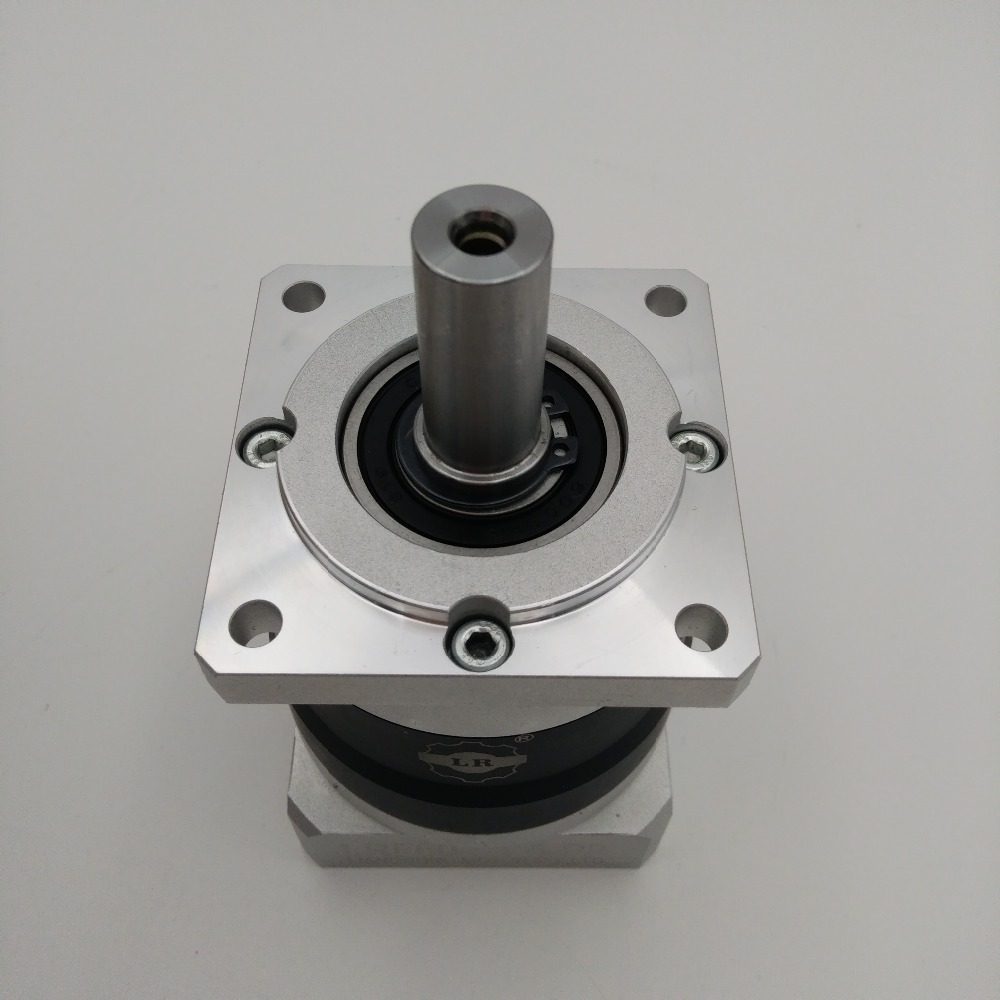 High Precision Ratio 100:1 CNC Planetary Gearbox Flange 120mm Speed Reducer for NEMA42 Servo Motor LRF120-100 precision planetary gearbox