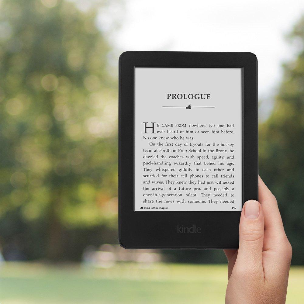 Kindle Black 2016 version écran tactile, logiciel Kindle exclusif, lecteur de livres électroniques Wi-Fi 4 GB eBook e-ink 6 pouces - 3