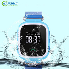 Hangrui Q60 Smart Watch Wristwatch SOS Call Location Finder Locator Device Tracker for Kids Anti Lost