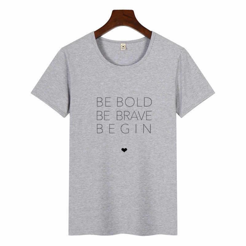女性クリスチャン Tシャツ大胆ブレイブ親切スローガンファッションユニセックスグランジフォローカジュアル Tシャツ聖書ヒップスタートップス tシャツ