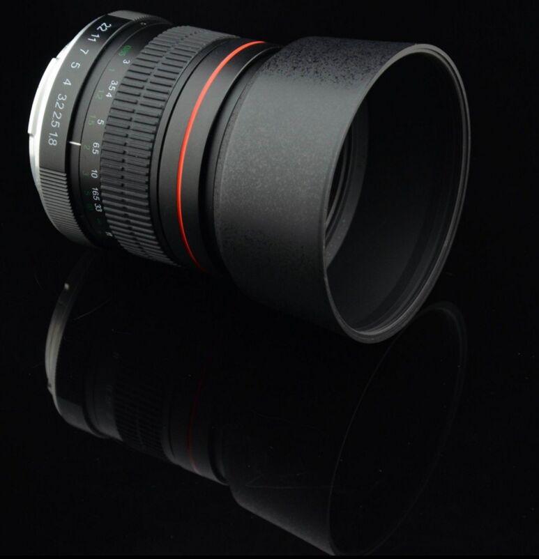 Téléobjectif asphérique 85mm f/1.8 pour Nikon D3200 D5200 D7000 D7200 D800 D700 D90 appareils photo reflex numériques
