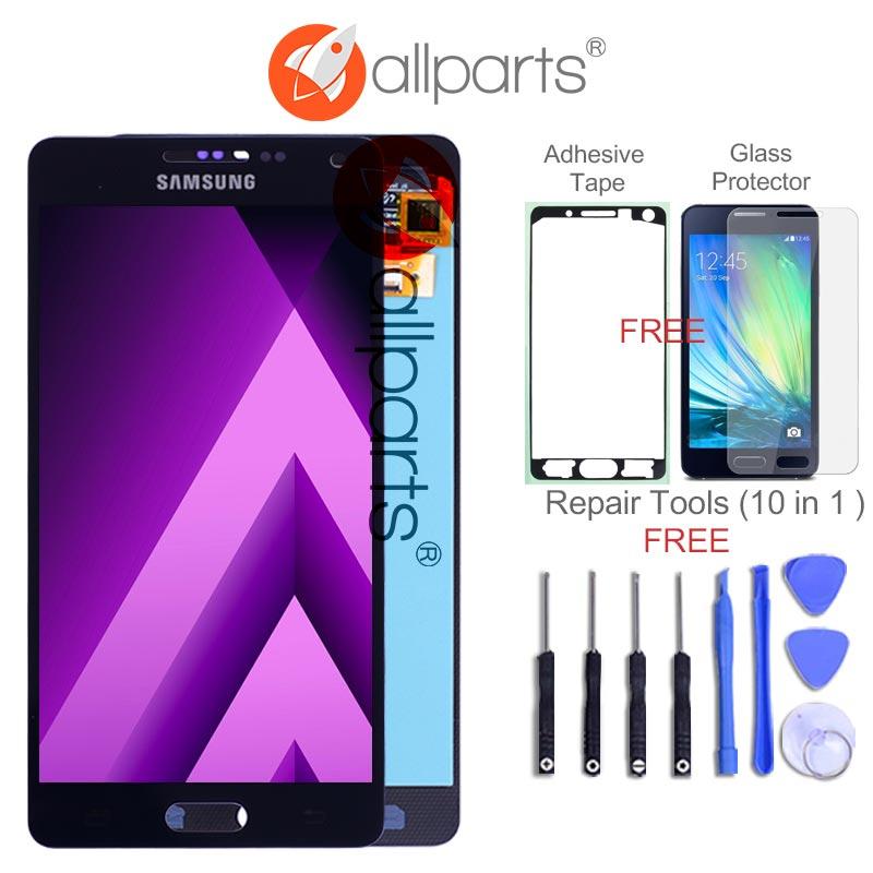AMOLED LCD für SAMSUNG Galaxy A5 2015 Display A500FU A500 A500F A500M Touchscreen Digitizer Ersatz Für SAMSUNG Galaxy A5