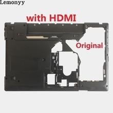 """Нижний чехол для ноутбука lenovo G570 G575 нижний Чехол черный с """"HDMI"""" комбо"""