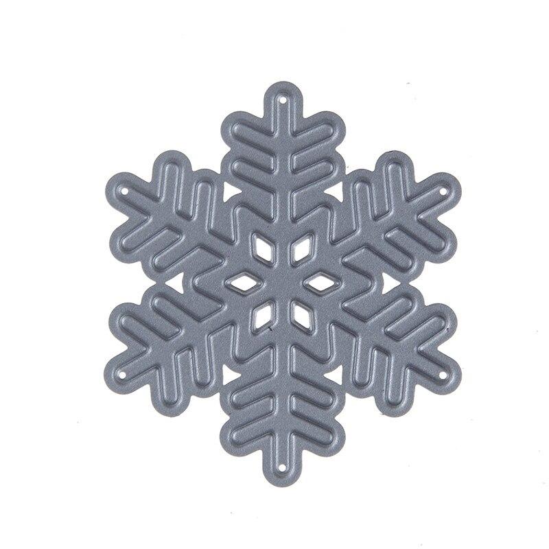 ᗖNueva snowflower flor forma hexagonal patrón metal Recortes de ...