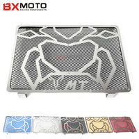 Motorcycle Accessories Motorbike Black Radiator Guard Engine Radiator Grill Guard Cover Protector For Yamaha MT09