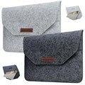2 Pattern Ноутбука Внутренний Засов BagWool Чувствовал Конверт Ноутбук Рукава сумка Для Macbook Air 11 12 13 Retina 13 15 с дисплей