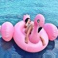 190 cm Gigante Inflável flamingo float Piscina inflável unicórnio adulto Natação anel inflável Cisne donut Brinquedos Piscina de Água DHL Livre