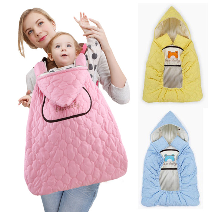 winter cloak cloak baby sleeping bag cotton blankets blankets hold by the wind  цены