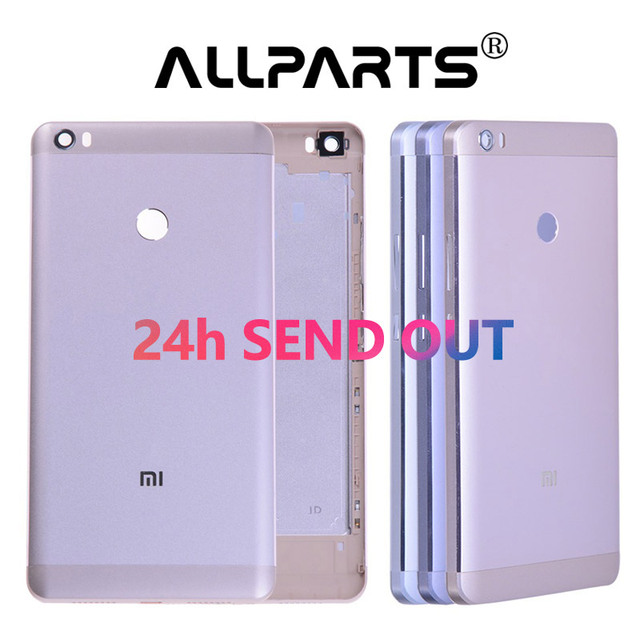 Warranty Metal Rear Housing For XIAOMI Mi Max Back Cover Case Battery Door with Volume Power Button Mimax Gray Silver Gold