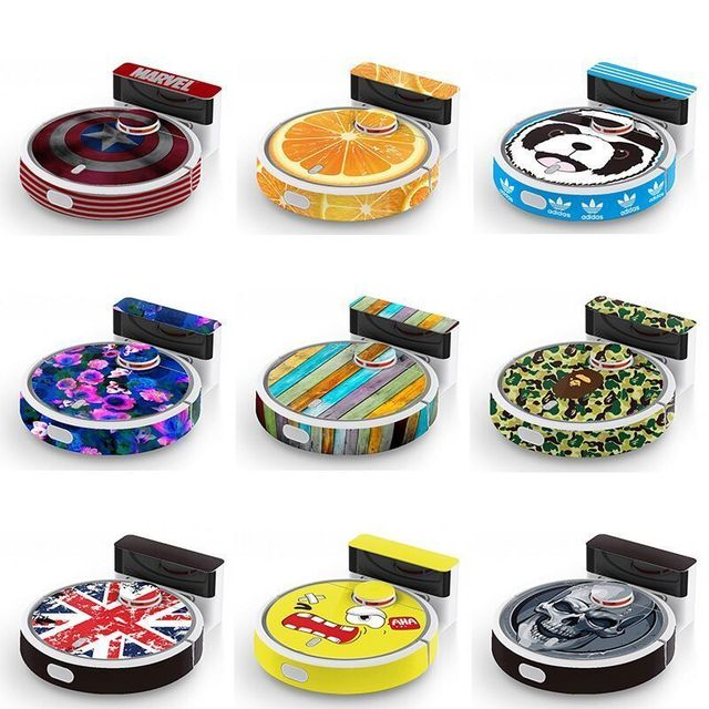 Xiaomi Mi Robot Vacuum Cleaner Cute Cartoon Sticker Beautifying Protective Film 1-26 Models Can Be Selected