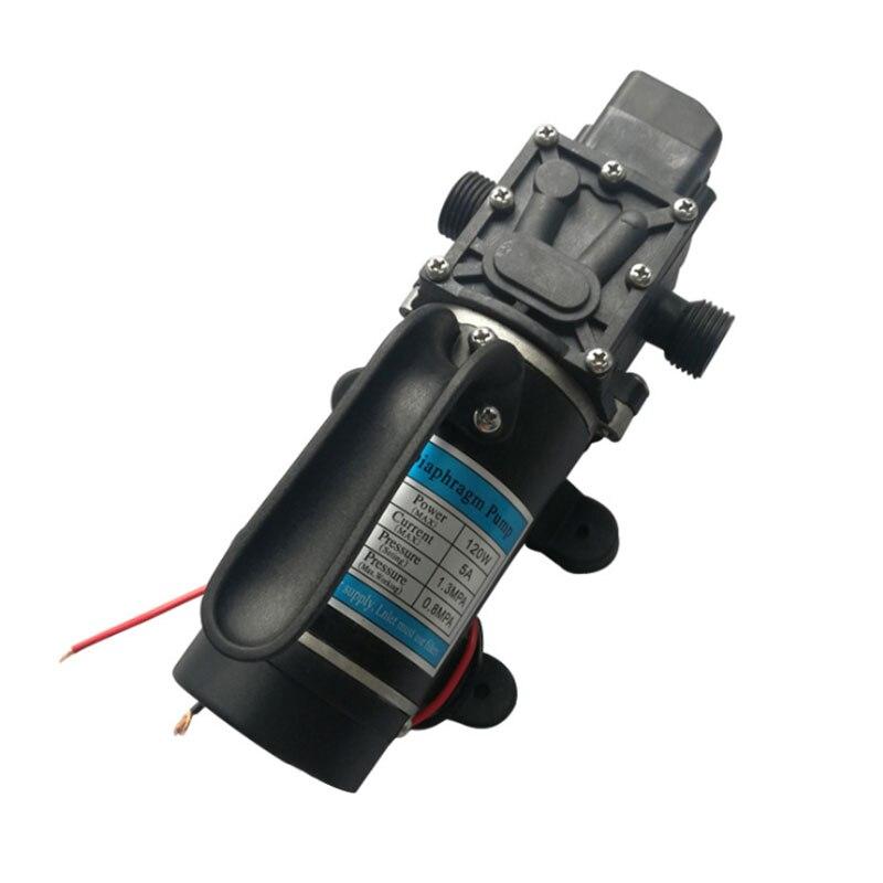 DC 12V 120W 24V 120W lifting diaphragm pump diaphragm vacuum pump micro pesticide water pump