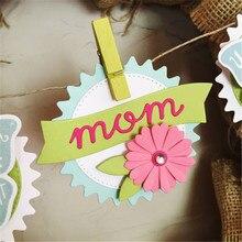 Eastshape Flower and Tag Metal Cutting Dies 2019 for Craft Dies Scrapbooking Card Making Album Embossing Stencil Die Cut Decor мяч bodyform bf gb01 55cm pink