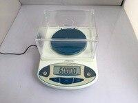 0,01 г 600 г лаборатория аналитический Цифровой баланс весы ювелирные изделия электроники сказал, с цифровой дисплей вес сенсор