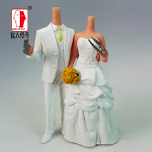 Wedding gift custom wedding Cake Topper Personalized Custom real doll custom clay dolls fixed resin body SR037