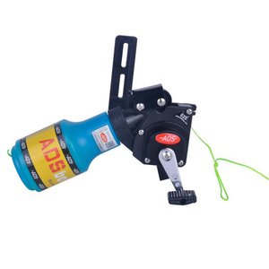 Image 3 - Archery ADS Fishing  Bowfishing Spincast Reel Machine Bottle Rope Quiver Used For Compound Bow Recurve Bow Accessory