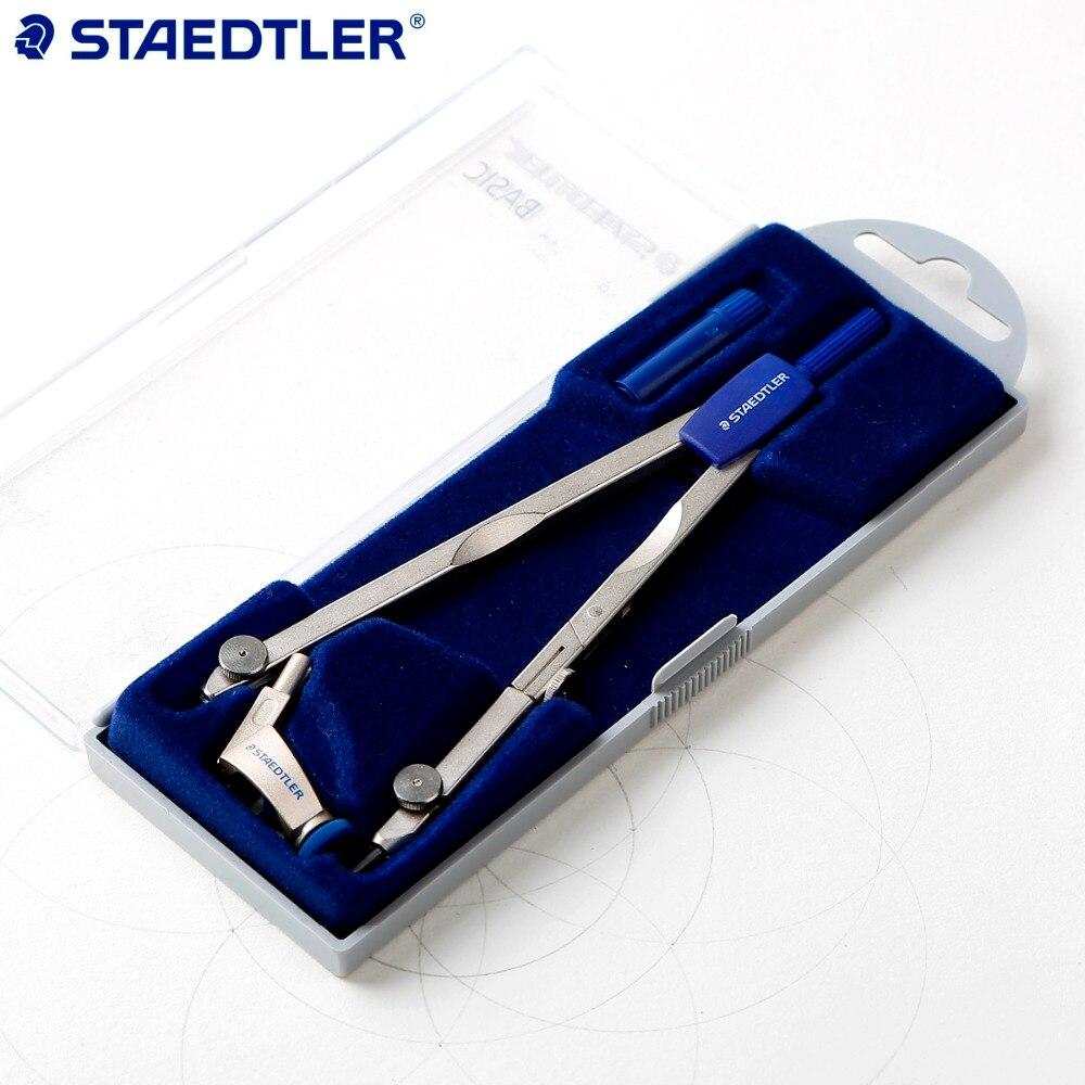 ФОТО Germany Staedtler 558 01 BASIC Compasses Precision Basis Drawing Compasses  1PCS
