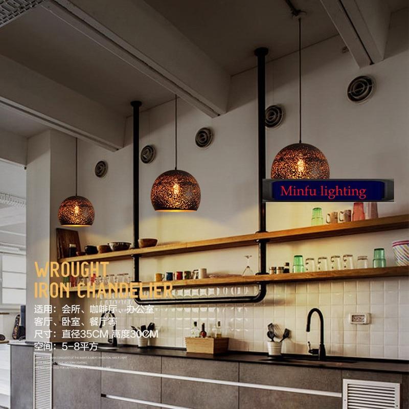 Led suspension lamp bar restaurant versieren lichtpunt lamp koord ...