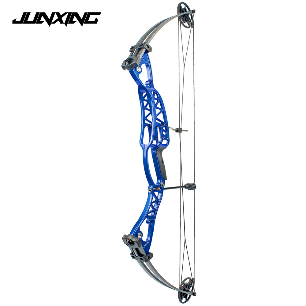 2 Color Compound Bow 40-60lbs Aluminum Alloy Slingshot Bow with Peep Sight for Adult Hunter Outdoor Hunting Shooting new model magic modeling compound 8 oz each neon 2 lbs 232413