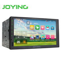 Joying Reproductor Multimedia Del Coche Para Universal Quad Core Android 1024*600 HD de Pantalla Táctil Completa Doble 2 Din Car Radio Head unidad