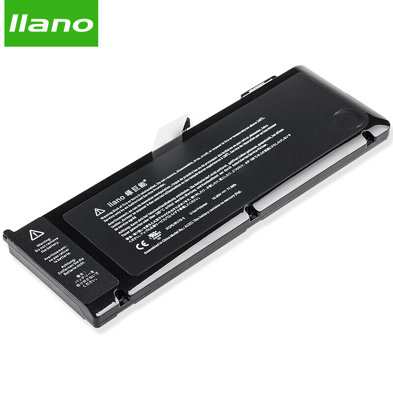 llano A1321 Laptop Battery for APPLE MacBookAir A1286 MC372 MB985 MB986 for MacBook Pro 13 3in