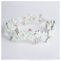 2018 New Full Cubic Zirconia Crown Hairband Jewellery Romantic Bridal Hair Accessory For Wedding Birthday Party Lover Best Gift