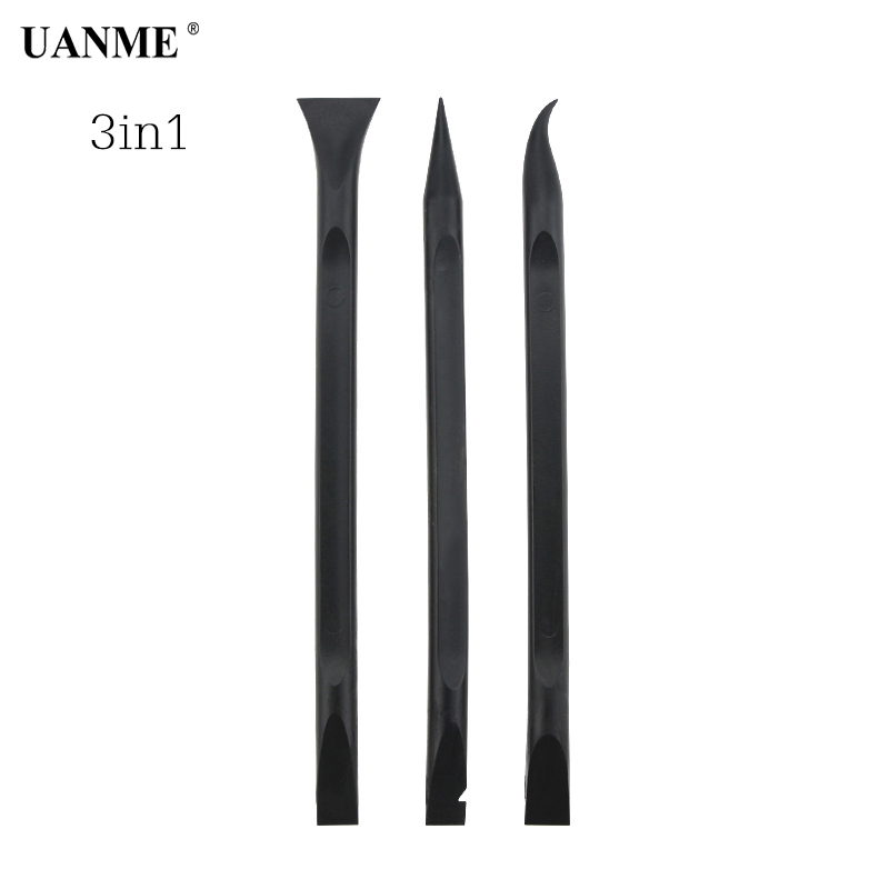 UANME Black 6in Durable Anti-static Spudger ESD Safe Heavy Duty Plastic Spudger Mobile Phone Opening Repair Tool For Cell Phone