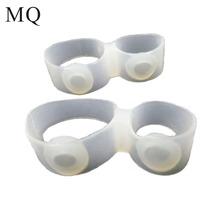 Toe-Rings Diet Weight-Loss Foot-Care Health-Blood Magnetic Slimming Fitness Silicon 1pair--2piece