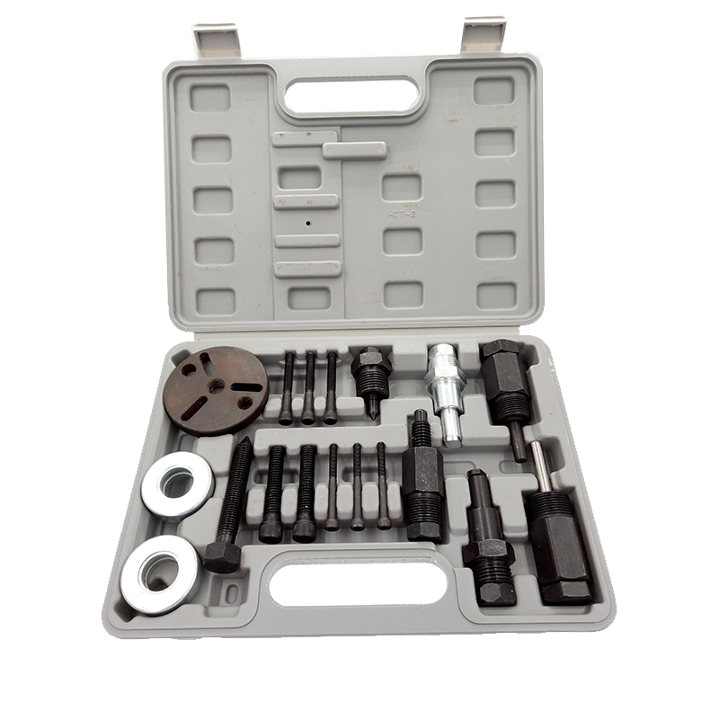 Bonne qualité Auto Air Conditionné Outil pour Compresseur D'embrayage Embrayage Hub Puller et Installer Kit 5H11