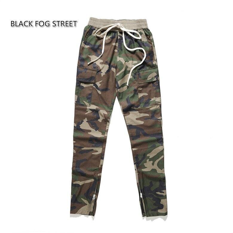 OfficiëLe Website Zwart Fog Street Nieuwe Weatpants Camouflage Broek Broek Heren Joggers Jumpsuit Urban Kleding Casual Harem Mannen Broek