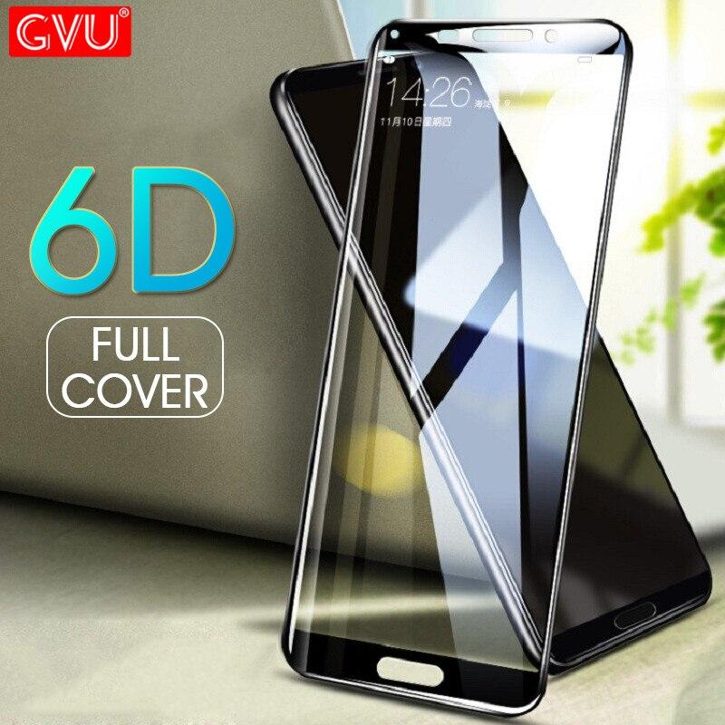 GVU 6D couverture complète en verre trempé pour Huawei Mate 9 10 Lite 10 PRO Film de protection d'écran pour Huawei Mate 10 9 8 verre de protection