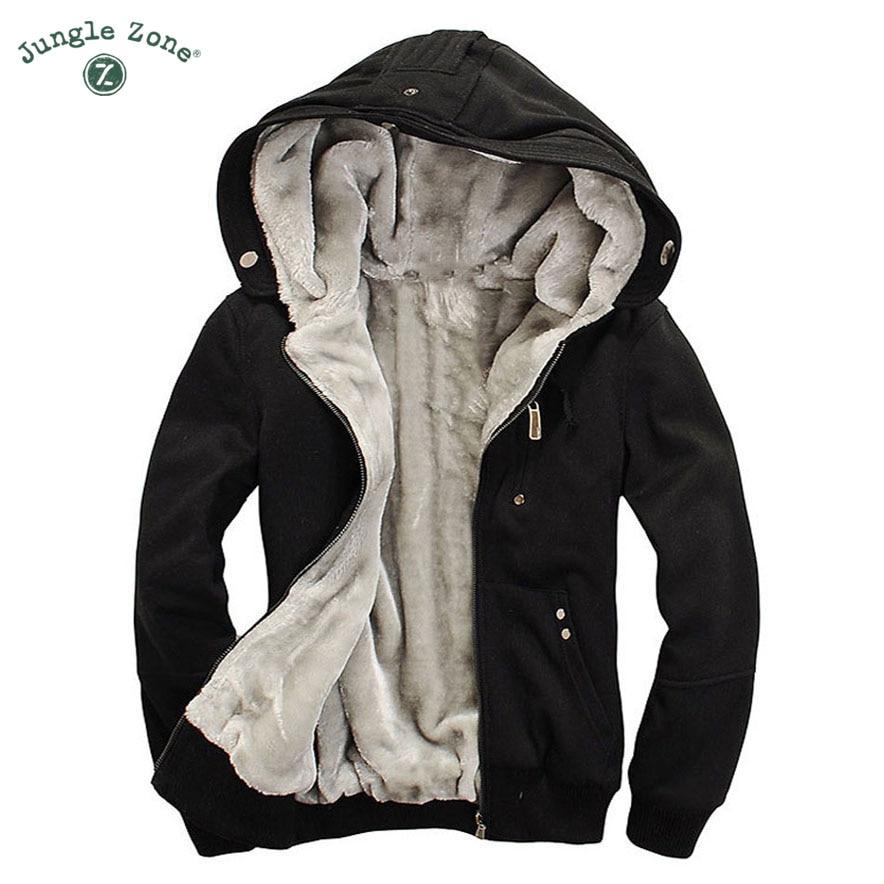 M-5XL,2017 winter casual men hoodies sweatshirt hooded jackets coat man hoodi warm plus thick fleece hoodies men's WY100