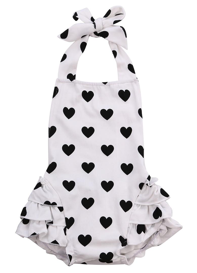 New Newborn Romper Baby Girl Infant Clothing 2pcs/Sets 2016 Tutu Sleeveless Romper Halter Belt jumpsuit+Headband