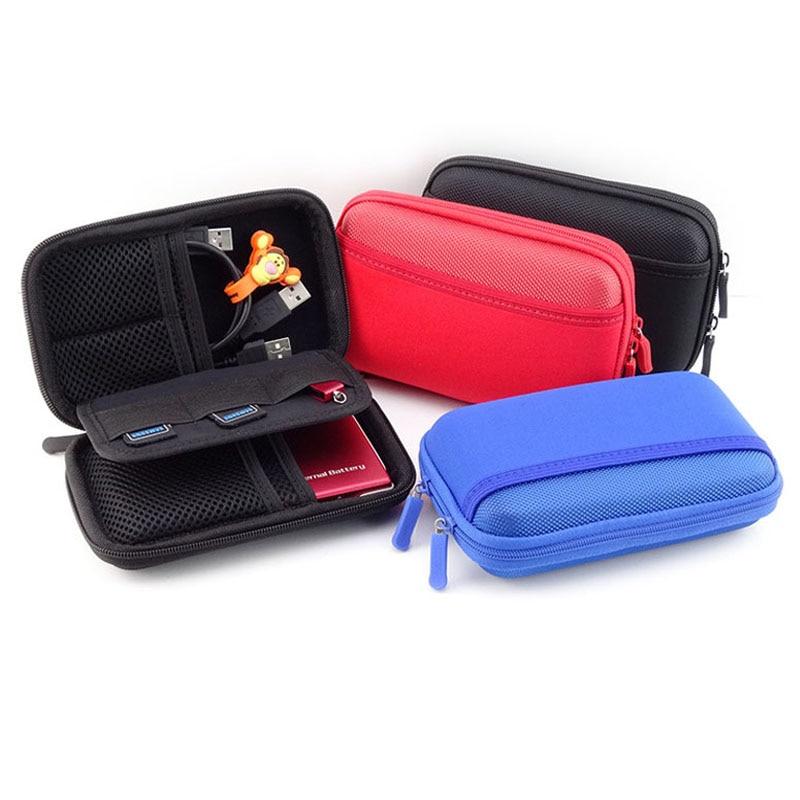 Banco de potencia portátil de viaje AD tarjeta USB drive kit de 2.5 pulgadas SSD