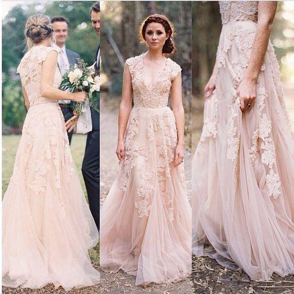 Popular Pale Pink Wedding Dresses-Buy Cheap Pale Pink Wedding ...