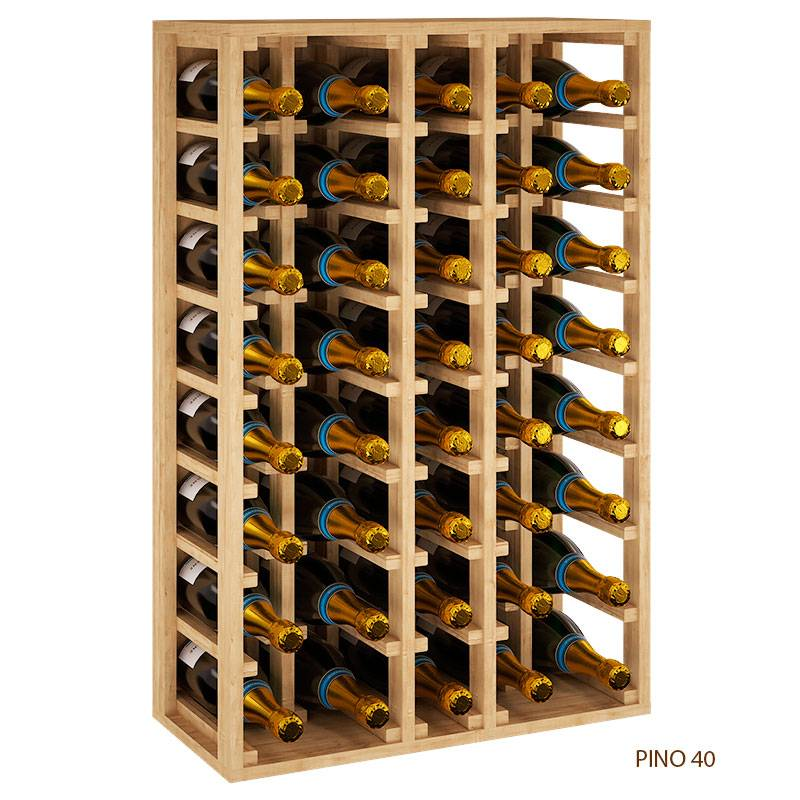 Botellero Magnum Vino Y Cava 40 Botellas