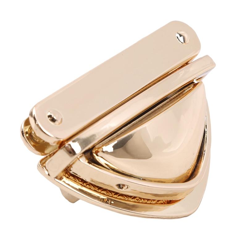 Turn Lock Twist Locks For DIY Handbag Shoulder Bag Purse Metal Clasp Bag Accessories