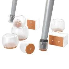 8 шт Нескользящие силиконовые ножки стула крышки ног колодки мебель стол чехлы протекторы для деревянного пола