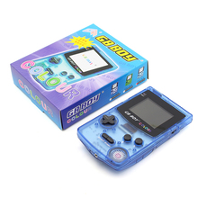 Kong Feng GB Boy Classic Color Colour Handheld Game Console 2.7″ Game Player with Backlit 66 Built-in Games