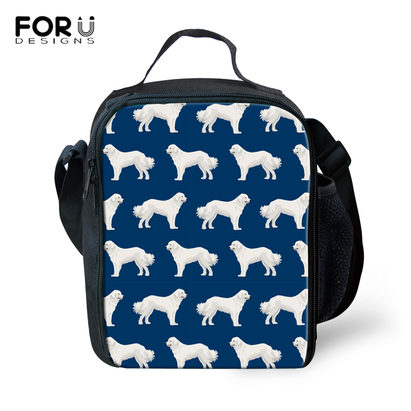 Style; Forudesigns Corgi Pattern Lunch Bag For Kids 2018 Thermal Insulated Lunchbag For Children School Girls Lunchbox Food Picnic Bag Fashionable In