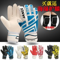 Youth&Adult Goalie Goalkeeper Gloves,Strong Grip for The Toughest Saves, With Finger Spines to Give Splendid Protection
