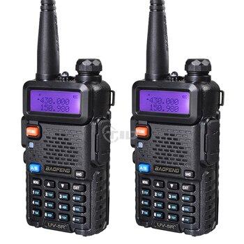 1pcs/2pcs Walkie Talkie Baofeng uv-5r Radio Station 5W Portable Baofeng uv 5r from Russia Ukraine Spain warehouse radio amateur 1