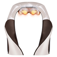 JinKaiRui Car Home Neck Massager Electrical Shiatsu Kneading Shoulder Leg Body Massage Infrared 3D Kneading U