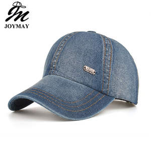 Joymay 2018 Autumn Unisex denim Jean outdoor Baseball cap