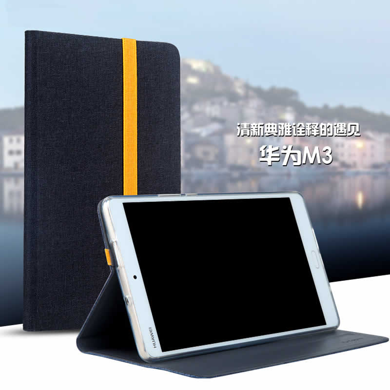 Case For Huawei Mediapad M3 BTV-W09 BTV-DL09 8.4 Inch, Magnetic Flip Smart Leather Protective Cover For Huawei M3 Tablet